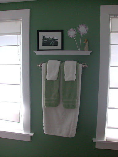 green bathroom 2
