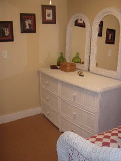upstairs bedroom dresser