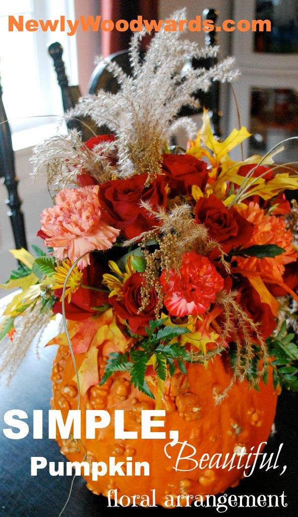 Pumpkin florals