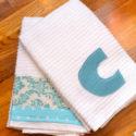 diy-embellished-dish-towels