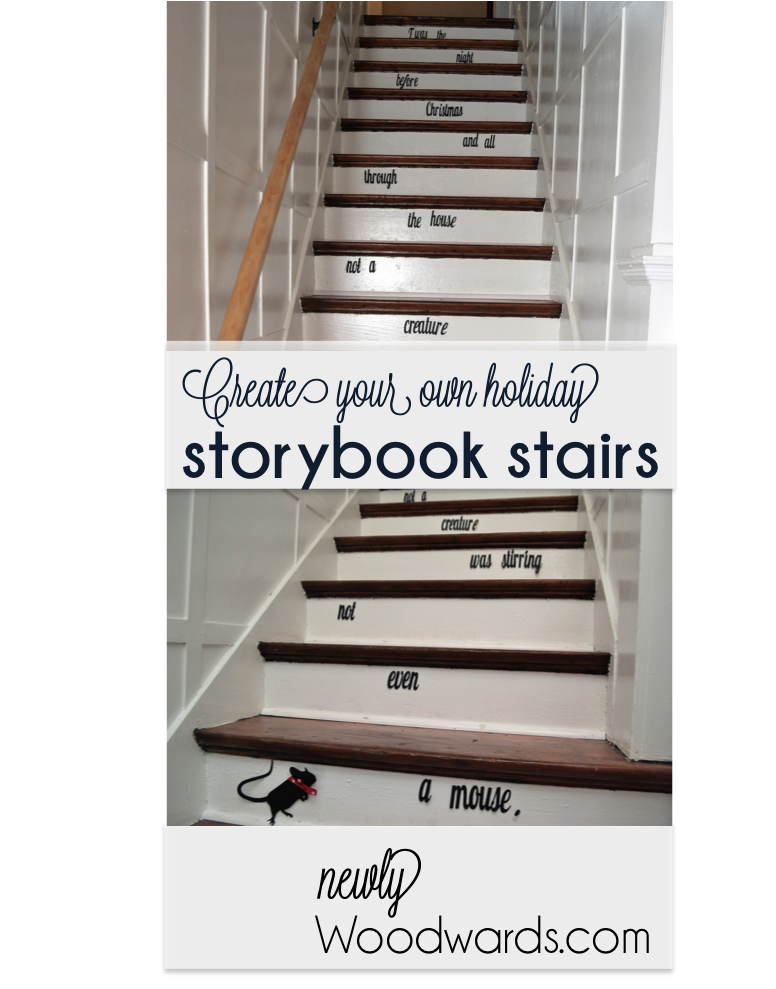 Storybook stairs title image