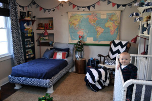 Update: A classic boy nursery at (almost) 8 months