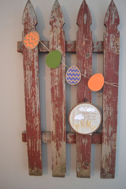 Easter banners and decor10