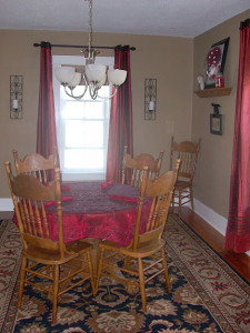 Dining Room Dilemma
