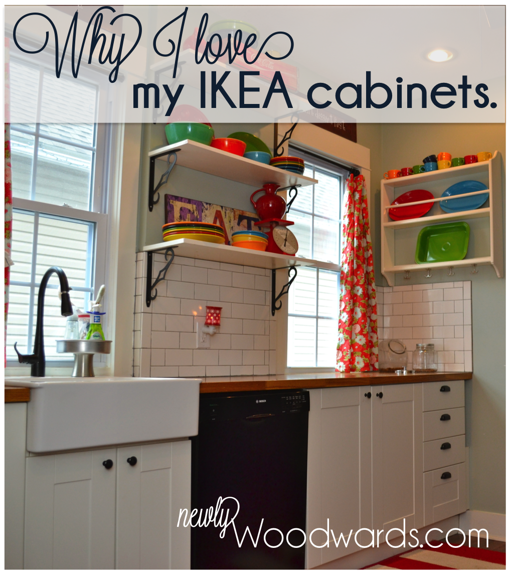Why I love my IKEA kitchen cabinets - NewlyWoodwards