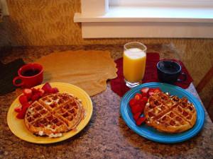 Our favorite weekend breakfast