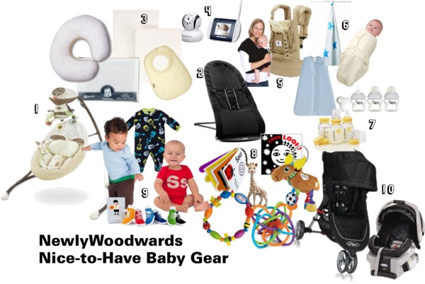 Baby stuff nice-to-haves