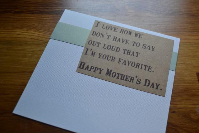 Mother's Day Card homemade1