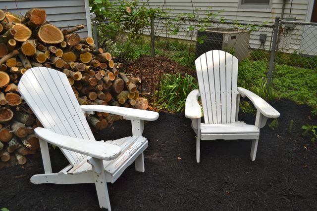 Fancy And our metal patio chairs were past the point of needing paint They were downright embarrassing