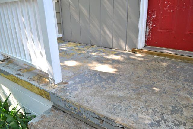 Painting concrete porch2