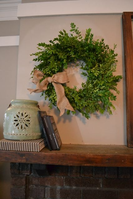 DIY Boxwood Wreath11