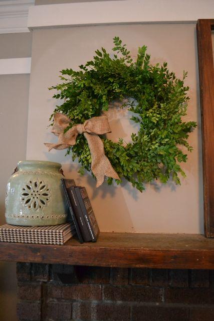 DIY Boxwood Wreath11