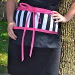 Striped apron1
