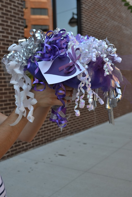 anyhoo if you are looking to make a rehearsal dinner bouquet from bows and have big dreams too here are a few tips