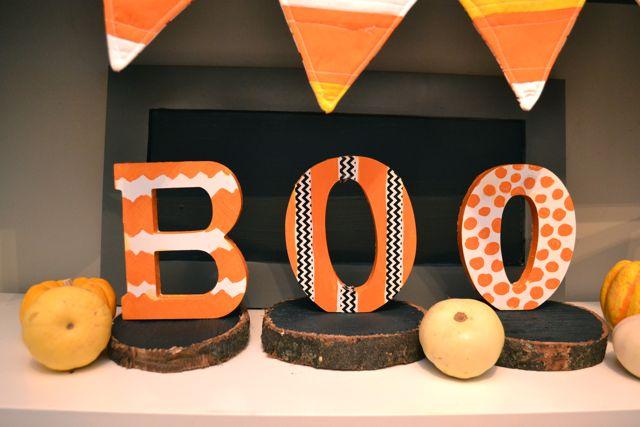 Boo Halloween Display Behr5