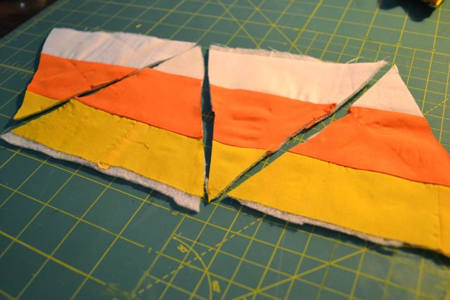 Candy corn quilted pennants - NewlyWoodwards : candy corn quilt - Adamdwight.com