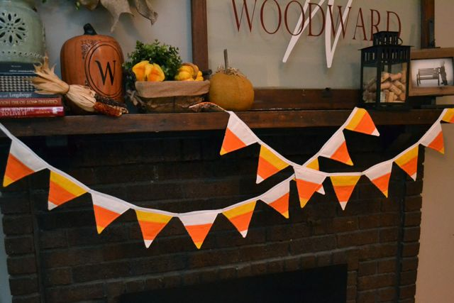Candy corn quilted pennats2