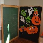 Felt pumpkin board1