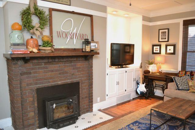 Living Room Fall Decor6
