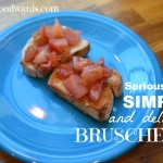 Bruschetta simple