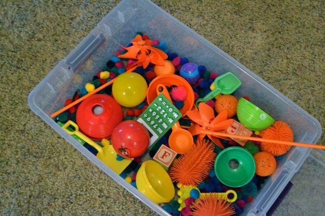 Busy sensory bin1