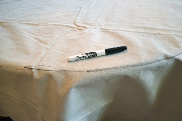 Drop Cloth Custom Ruffled Tablecloth03