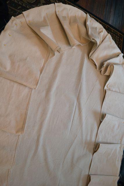 Drop Cloth Custom Ruffled Tablecloth08