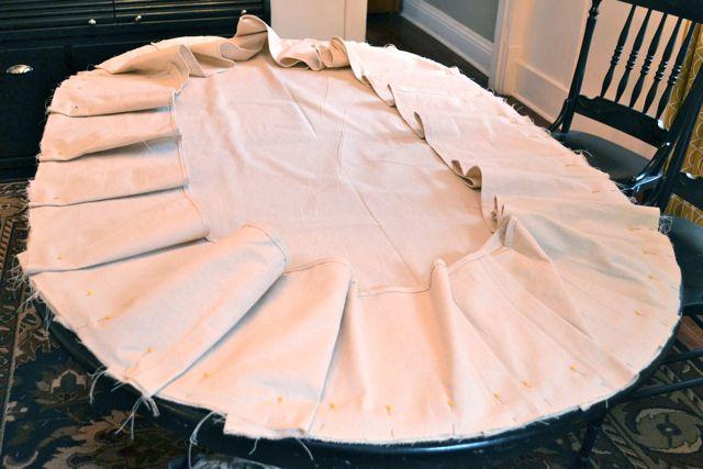 Drop Cloth Custom Ruffled Tablecloth09