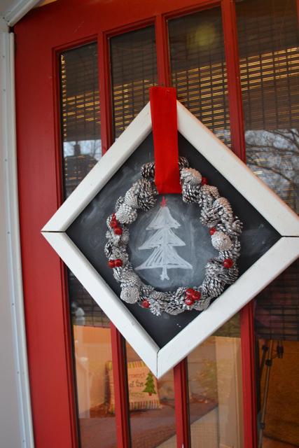 Christmas door decor2