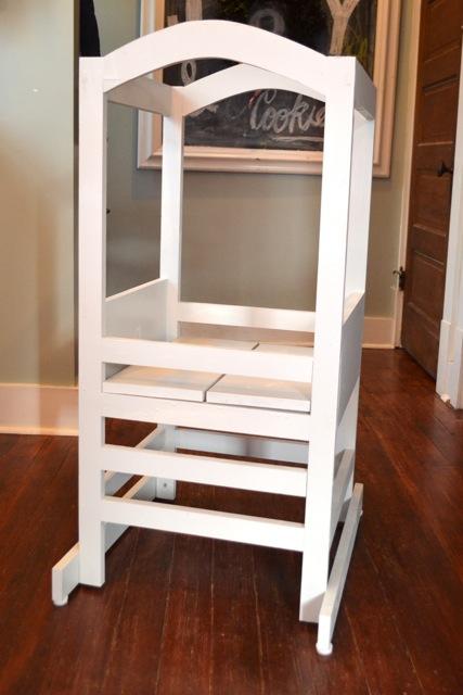 Astonishing A Homemade Kitchen Helper Tower For Henry Newlywoodwards Spiritservingveterans Wood Chair Design Ideas Spiritservingveteransorg