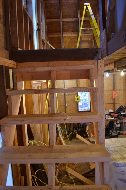 Barn apartment stairs 3