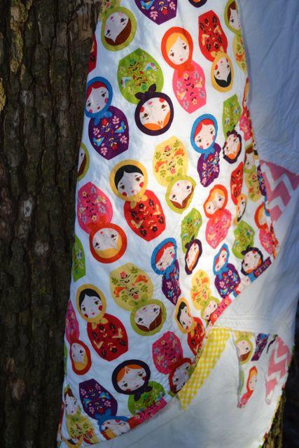 Nesting dolls pennant quilt2