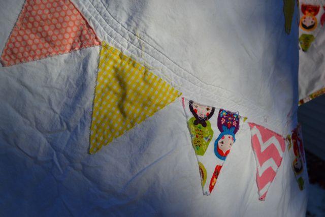 Nesting dolls pennant quilt4