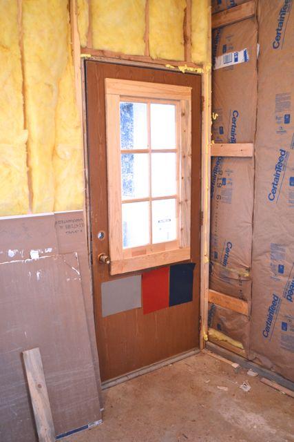 Barn red laundry door2