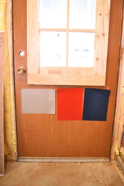 Barn red laundry door3
