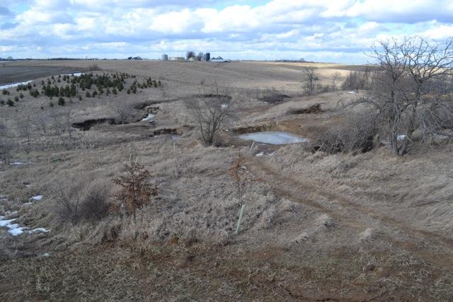 Pond property March 20141