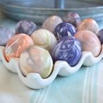 Silk tie Easter eggs10