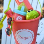 Custom Summer Fun Kids Sand Bucket Gift Set1