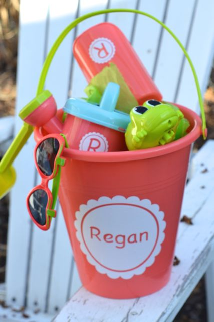 Custom Summer Fun Kids Sand Bucket Gift Set1