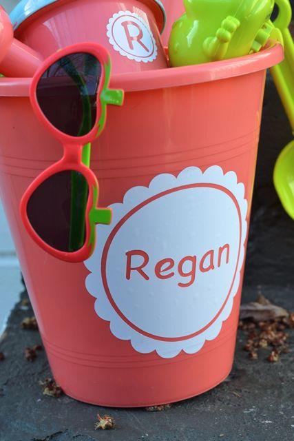 Custom Summer Fun Kids Sand Bucket Gift Set5