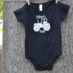 Tractor Ride Onesie Shirt1