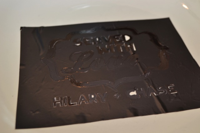 DIY signature platter shower guest book alternative4