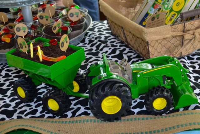 Tractor Party Johnny Tractor Two Years Birthday15