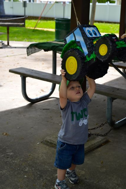 Tractor Party Johnny Tractor Two Years Birthday16