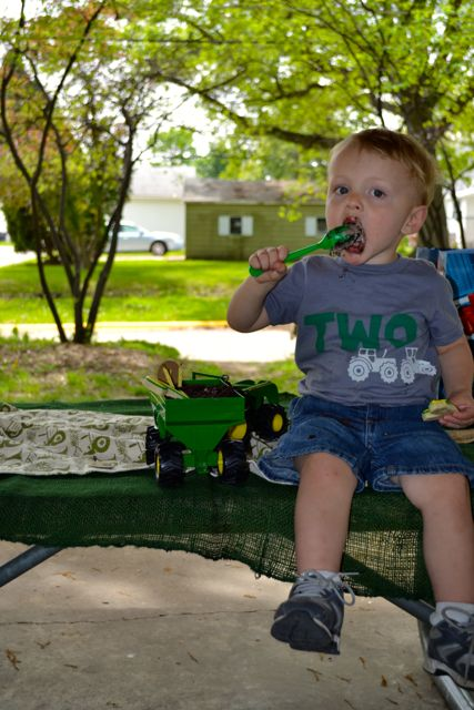 Tractor Party Johnny Tractor Two Years Birthday25