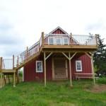 Barn deck updates June1