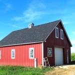 Barn red doors1