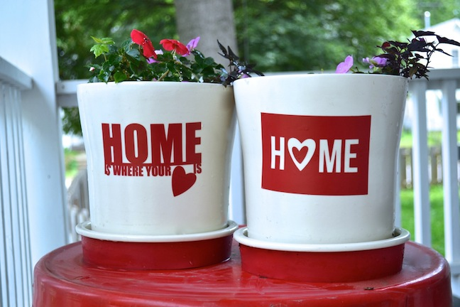 Heart and home flower pots3