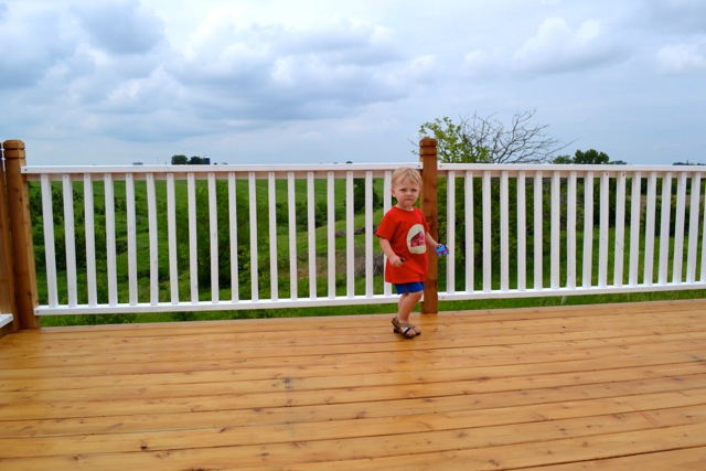 Henry on deck June1
