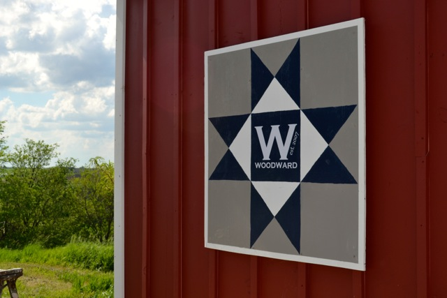 How to make a DIY barn quilt - NewlyWoodwards : quilt barn signs - Adamdwight.com
